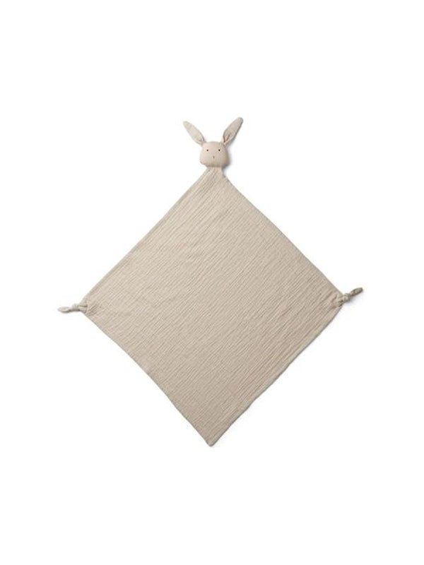 Liewood Robbie Muslin Cuddle Cloth Rabbit Sandy - 1love2hugs3kisses Ibiza