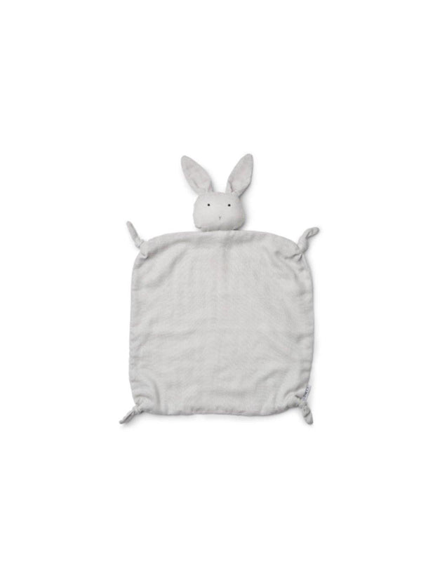 Liewood Agnete Cuddle Cloth Rabbit dumbo grey - 1love2hugs3kisses Ibiza