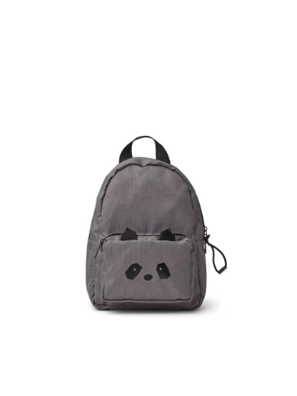 Liewood Allan Backpack Panda Stone Grey - 1love2hugs3kisses Ibiza