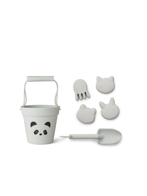 Liewood Dante Beach set - Panda dumbo grey