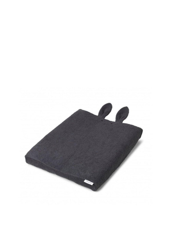Liewood Egon Changing Mat Cover Rabbit Dark Grey - 1love2hugs3kisses Ibiza