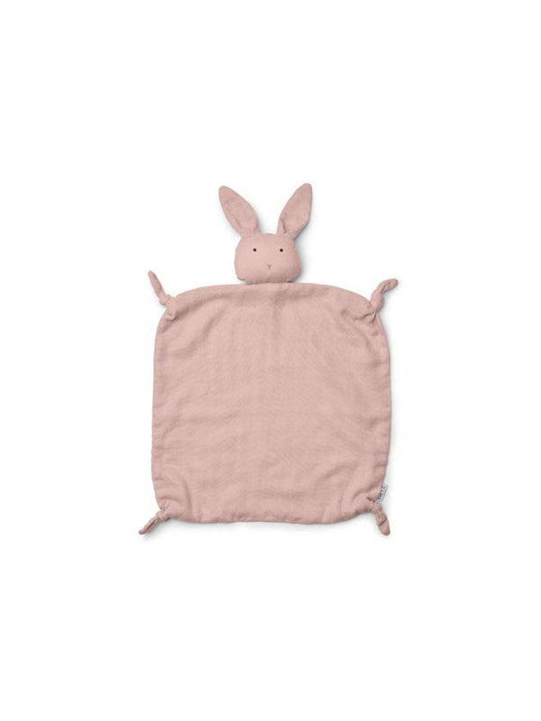 Liewood Agnete Cuddle Cloth Rabbit Rose - 1love2hugs3kisses Ibiza