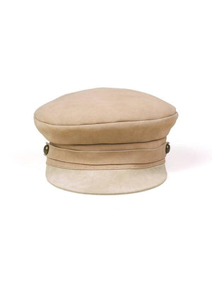 Lack Of Color Lola Suede Cap Taupe - 1love2hugs3kisses Ibiza