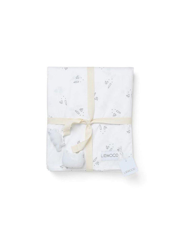 Liewood Ingeborg Bed Linen Junior Rabbit crisp white - 1love2hugs3kisses Ibiza