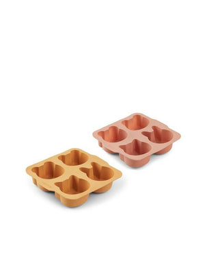 Liewood Mariam Cake Pan 2 Pack Yellow Mellow Dark Rose Mix - 1love2hugs3kisses ibiza
