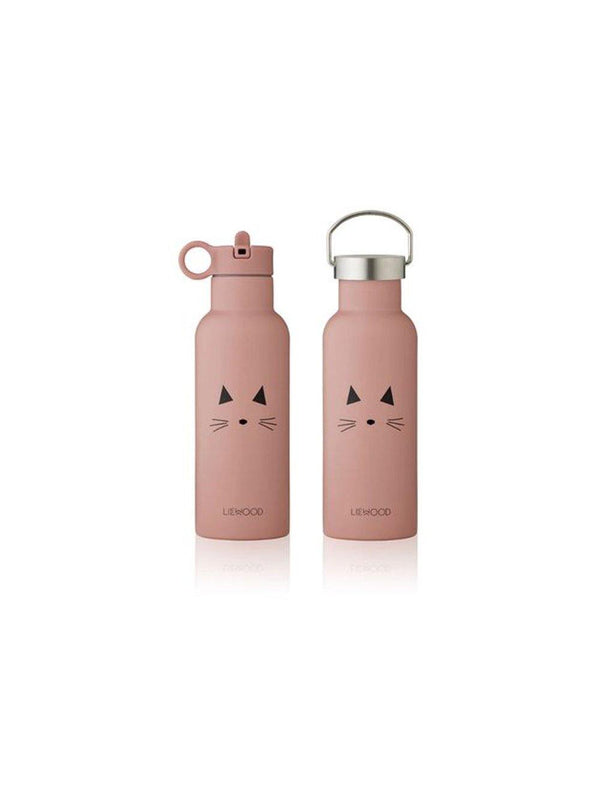 Liewood Neo Water Bottle Cat rose - 1love2hugs3kisses Ibiza