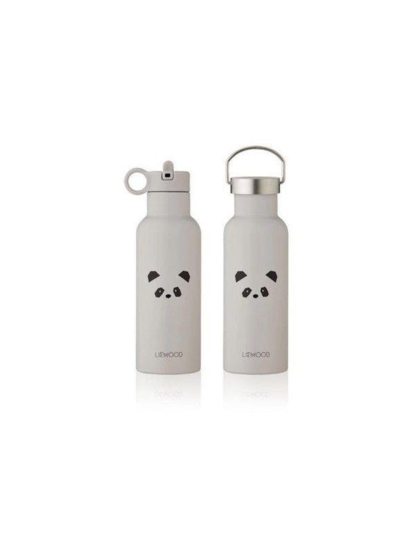 Liewood Neo Water Bottle Panda Light Grey - 1love2hugs3kisses Ibiza