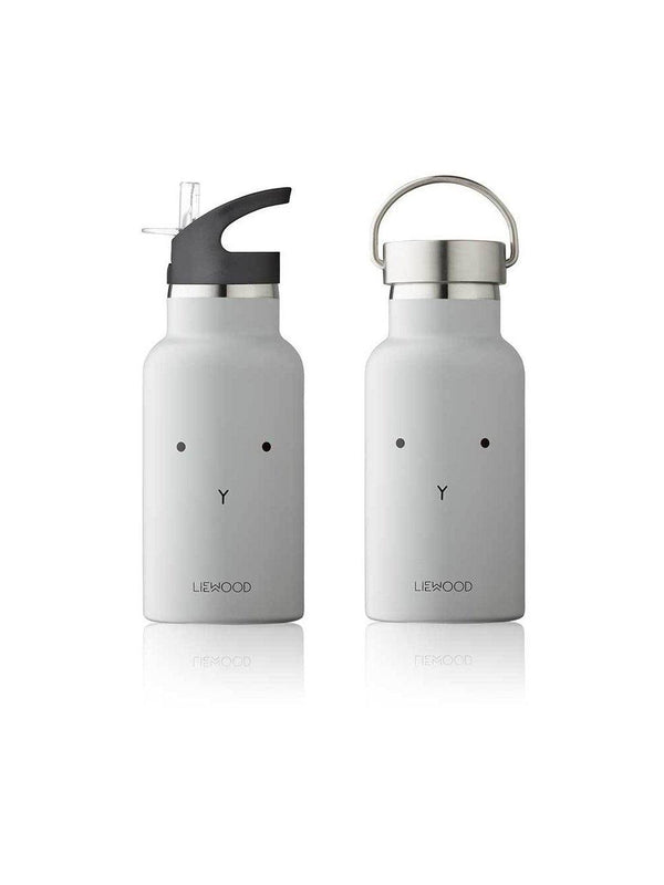 Liewood Anker Water Bottle Rabbit dumbo grey - 1love2hugs3kisses Ibiza