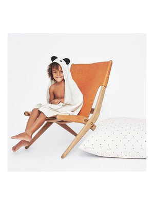 Liewood Augusta Hooded Towel Panda creme de la creme - 1love2hugs3kisses Ibiza