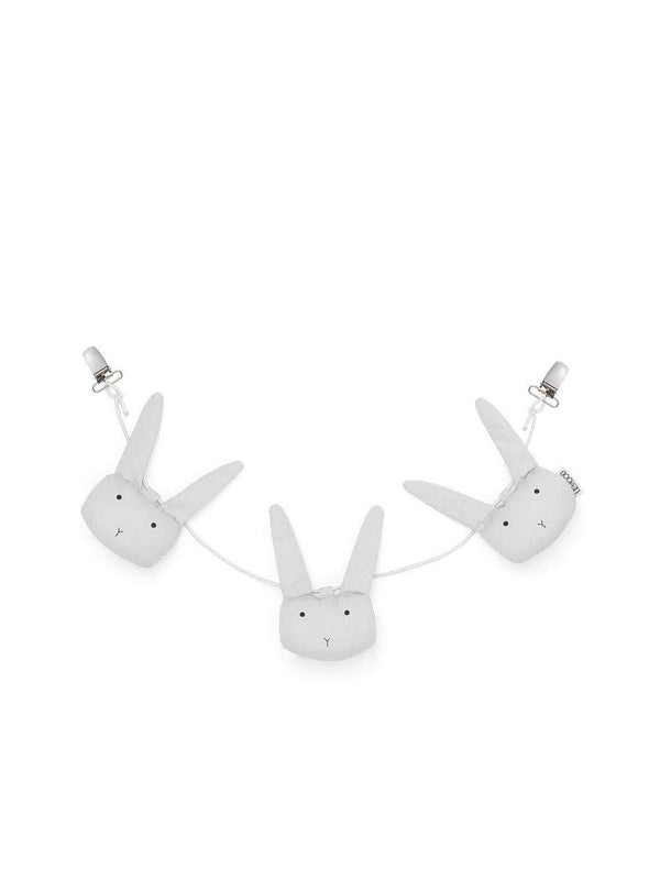 Liewood Holga pram chain Rabbit dumbo grey - 1love2hugs3kisses Ibiza