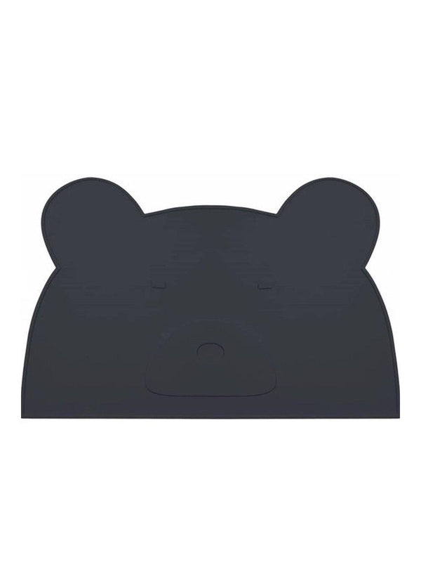 Liewood Jamie Black Bear Silicone Placemat - 1love2hugs3kisses Ibiza