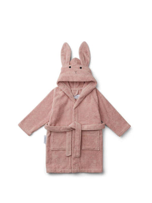 Liewood Lily Bathrobe Rabbit Rose - 1love2hugs3kisses Ibiza