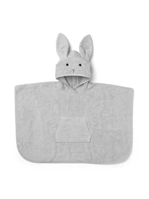 Liewood Orla Poncho Rabbit dumbo grey - 1love2hugs3kisses Ibiza