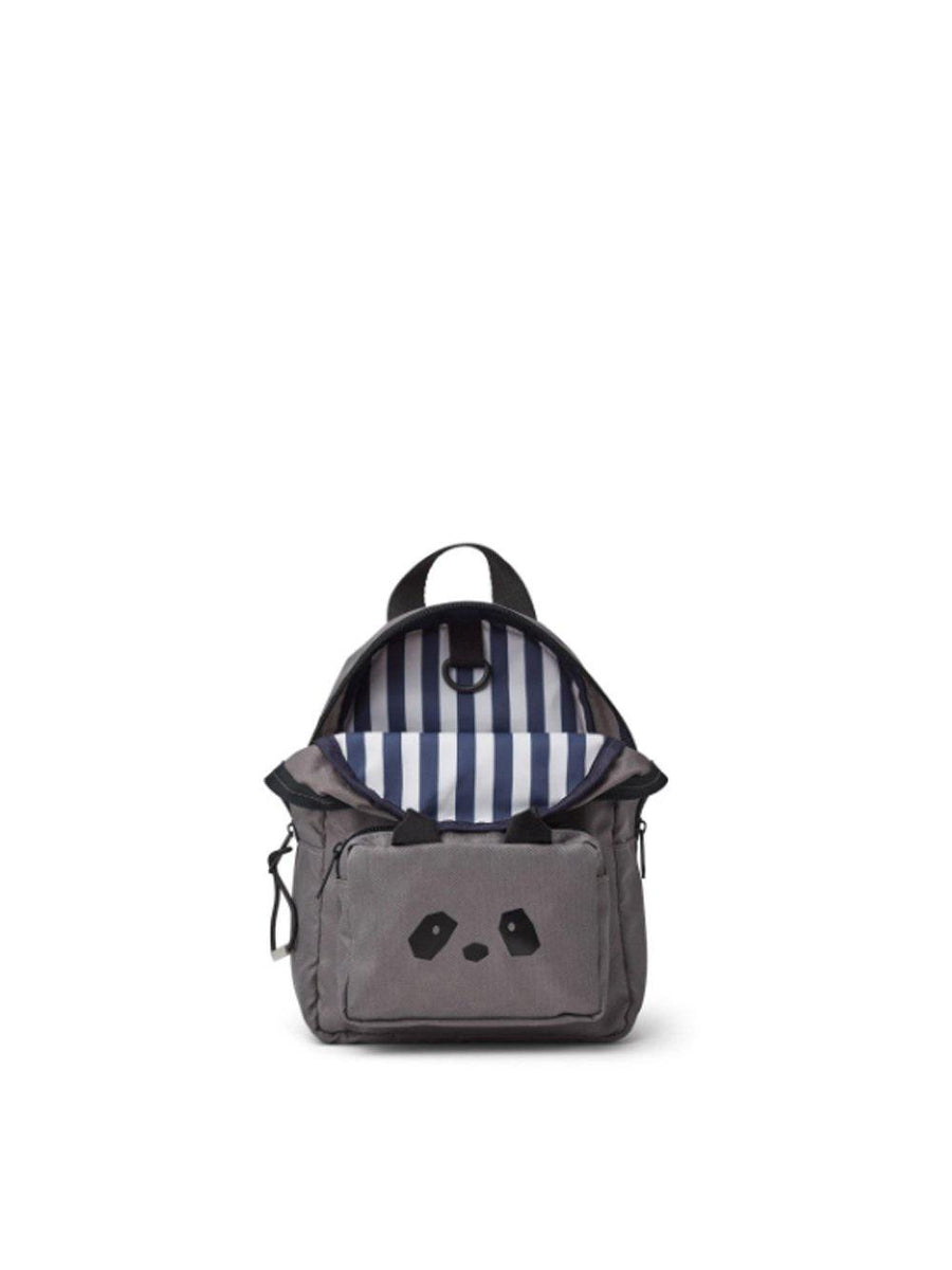 Liewood Saxo Mini Backpack Panda Stone Grey - 1love2hugs3kisses Ibiza