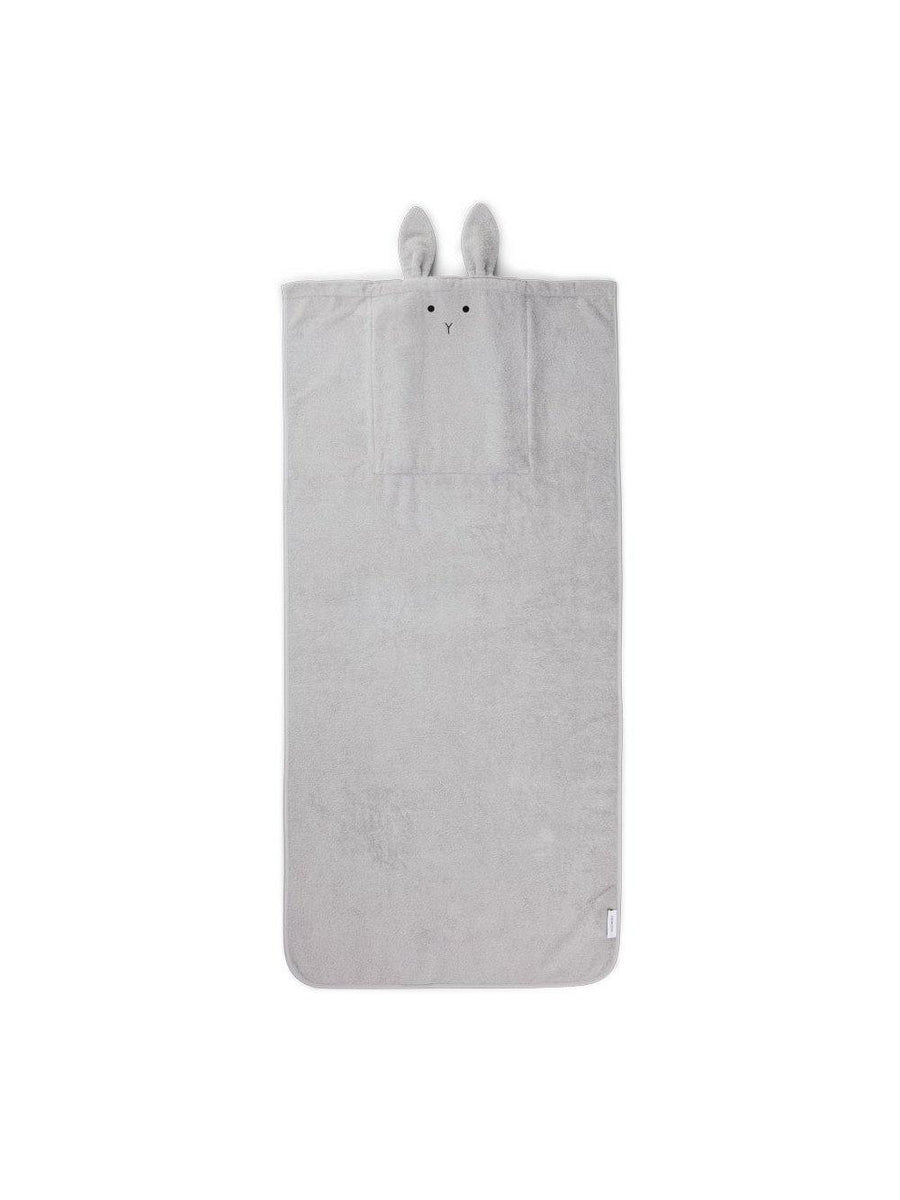 Liewood Thor Towel Back Pack Rabbit dumbo grey