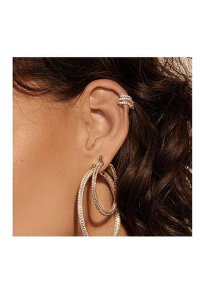 Luv Aj Ballier Ear Cuff Gold - 1love2hugs3kisses ibiza