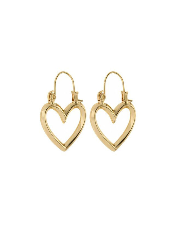Luv Aj Mini Heartbraker Hoops Gold - 1love2hugs3kisses Ibiza