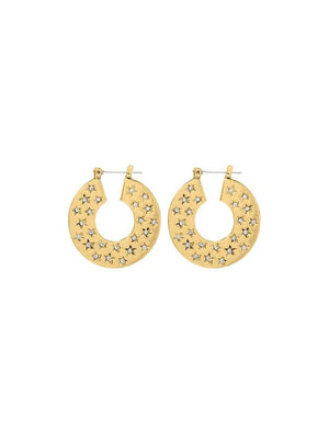 Luv Aj The Stargazer Hoops Gold
