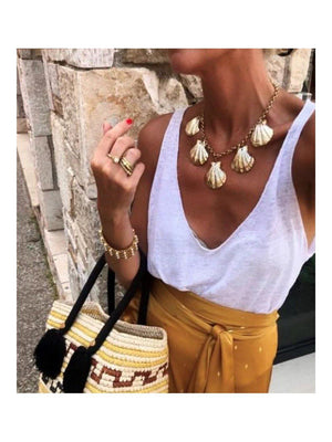 Mayol Jewelry Mayol Goes To Hollywood Necklace Gold - 1love2hugs3kisses Ibiza