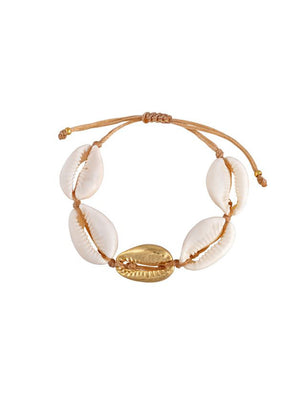Mayol Jewelry The Cowrie Bracelet white Gold - 1love2hugs3kisses Ibiza