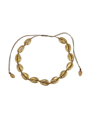 Mayol Jewelry The Gold Cowrie Choker Gold - 1love2hugs3kisses Ibiza