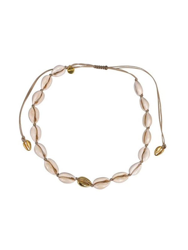 Mayol Jewelry The Mini Cowrie Choker Gold