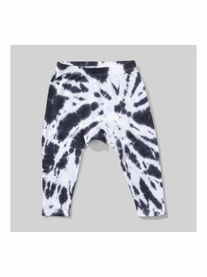 Mini Munster Whirler black tye dye pants - 1love2hugs3kisses Ibiza