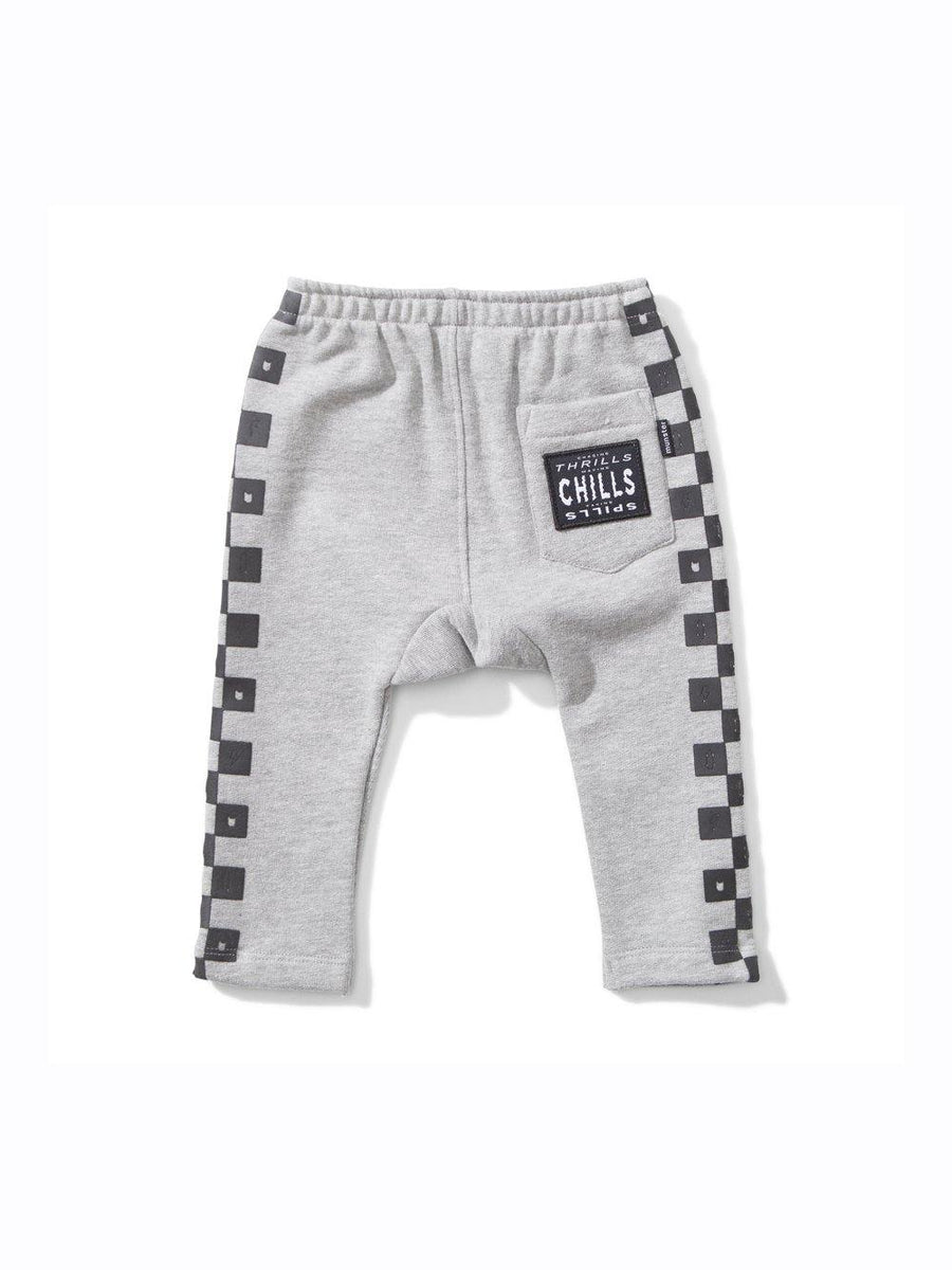 Mini Munster sweatpants grey melange - 1love2hugs3kisses Ibiza