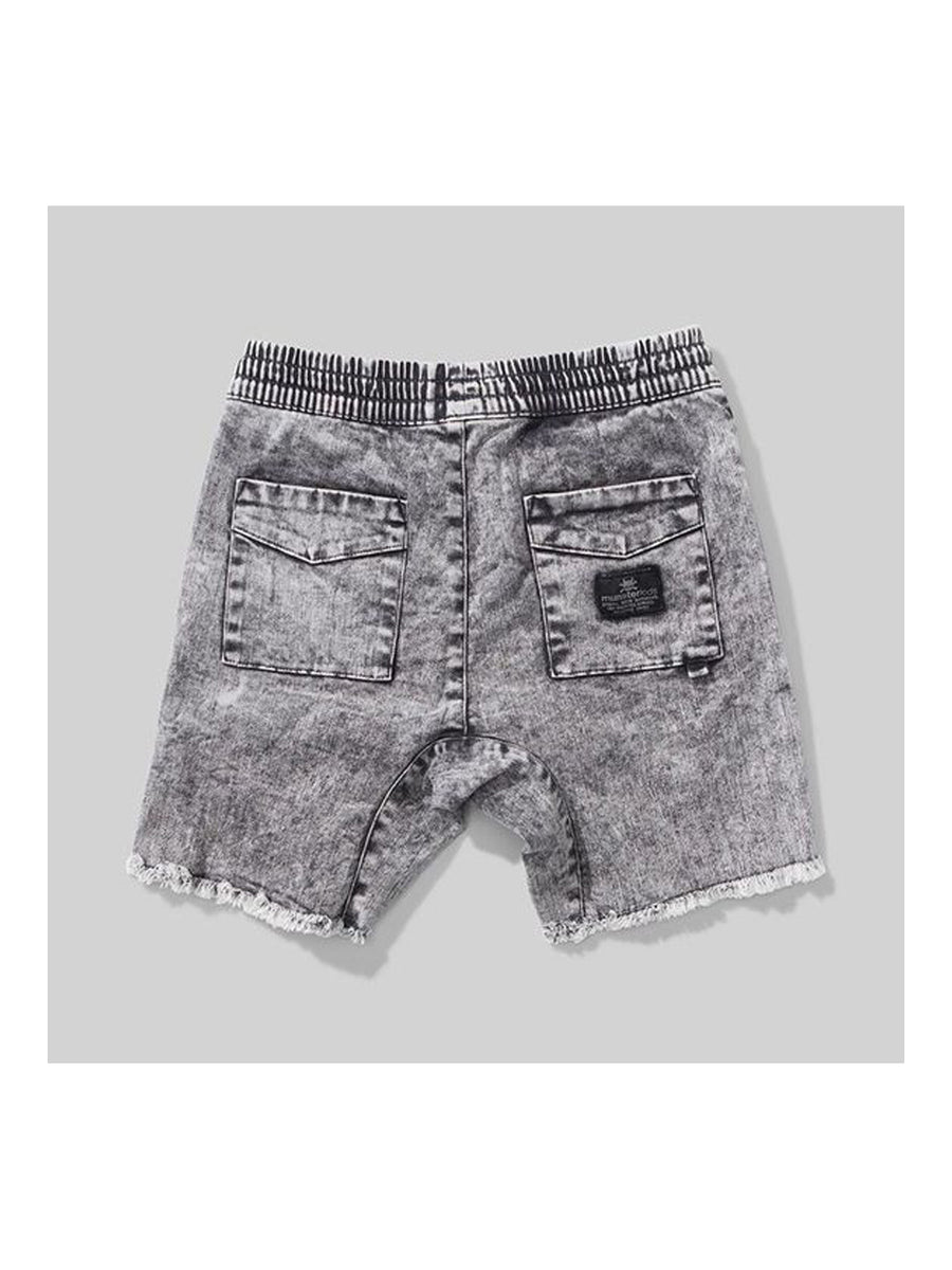 Munster Acid Rip Walk Shorts acid grey