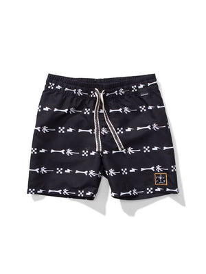 Munster Kids Island Bones Swim Shorts black - 1love2hugs3kisses Ibiza