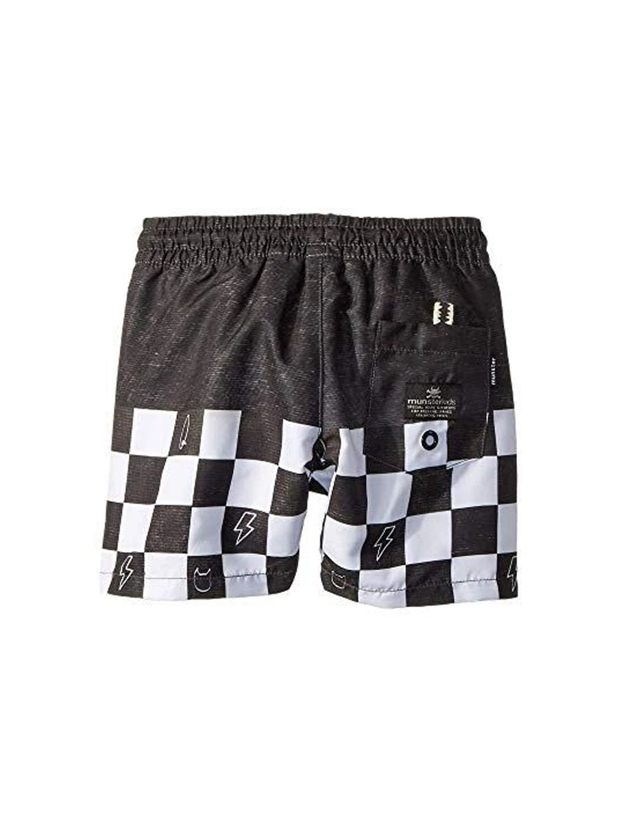 Munster Kids Wall Ride Swim Shorts Black - 1love2hugs3kisses Ibiza