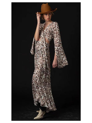 NGHTBRD Def Leopard Wide Skirt - 1love2hugs3kisses ibiza