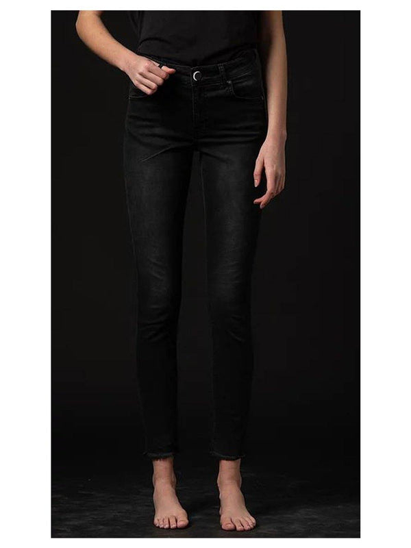 NGHTBRD Honey Child High Waist Stretch Jeans Black - 1love2hugs3kisses ibiza