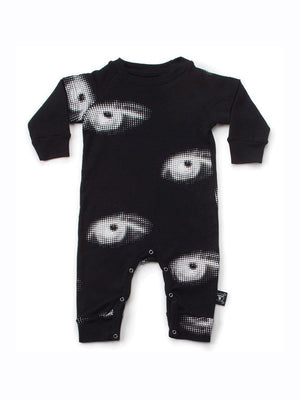 Nununu Eye Playsuit Black - 1love2hugs3kisses Ibiza