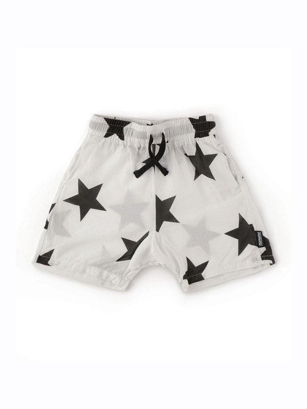 Nununu Star Voile Shorts White - 1love2hugs3kisses Ibiza