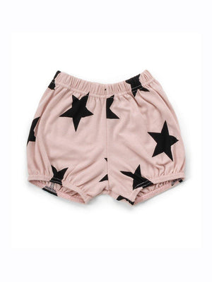 Nununu Star Yoga Shorts Powder Pink - 1love2hugs3kisses Ibiza