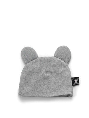Nununu Mouse Hat Heather grey - 1love2hugs3kisses Ibiza