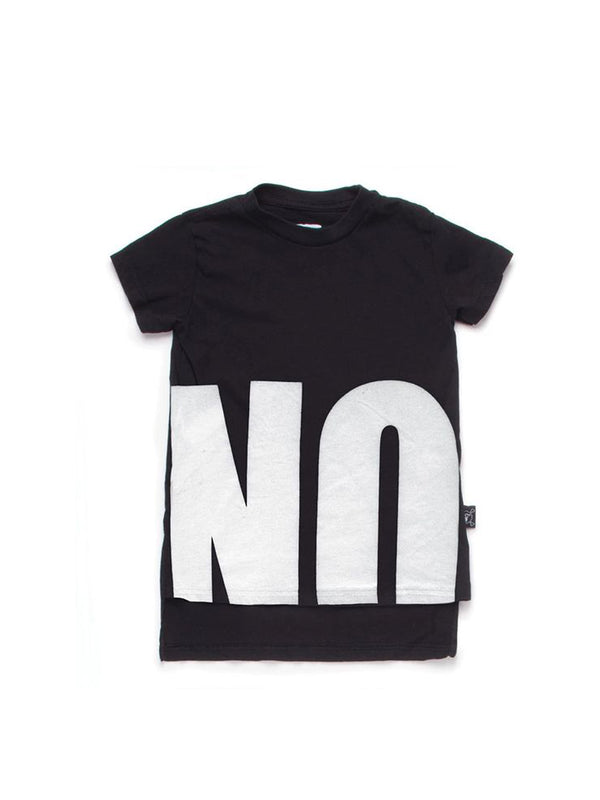 Nununu NO! T-Shirt Black - 1love2hugs3kisses Ibiza