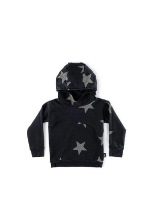 Nununu Star Hoodie Black - 1love2hugs3kisses Ibiza