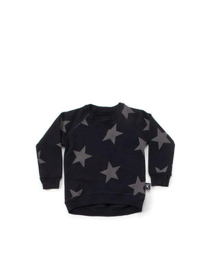 Nununu Star Sweatshirt Black - 1love2hugs3kisses Ibiza