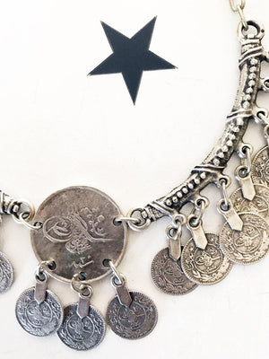 OneLove Coin necklaces Fez Silver - 1love2hugs3kisses Ibiza