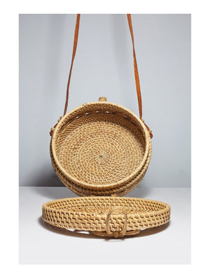 Ratan Round Bag Classic - 1love2hugs3kisses Ibiza