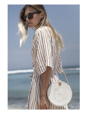 Ratan Round Bag White - 1love2hugs3kisses Ibiza