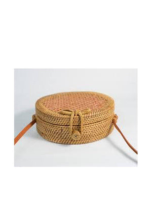 Ratan Small Round Bag Net Bag - 1love2hugs3kisses Ibiza