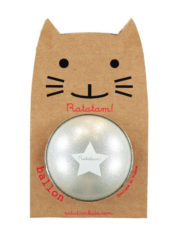 Ratatam Cat Ball Star Large Silver - 1love2hugs3kisses Ibiza