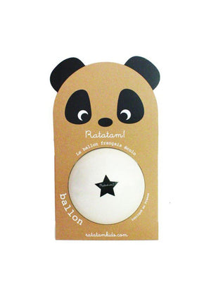 Ratatam Panda Ball Star White - 1love2hugs3kisses Ibiza