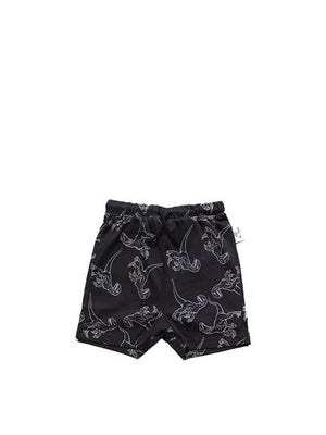 Sometime Soon Isla Shorts x Jurassic World Black