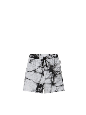 Sometime Soon Prismo Shorts White