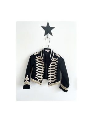 Pre-loved Stella McCartney Kids For GAP Military Wool Jacket Black size 4 years - 1love2hugs3kisses Ibiza