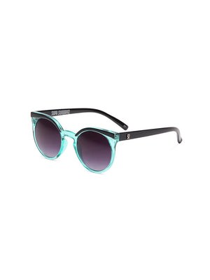 Supa Sundays Eyewear Phoebe Liquid Teal - 1love2hugs3kisses Ibiza
